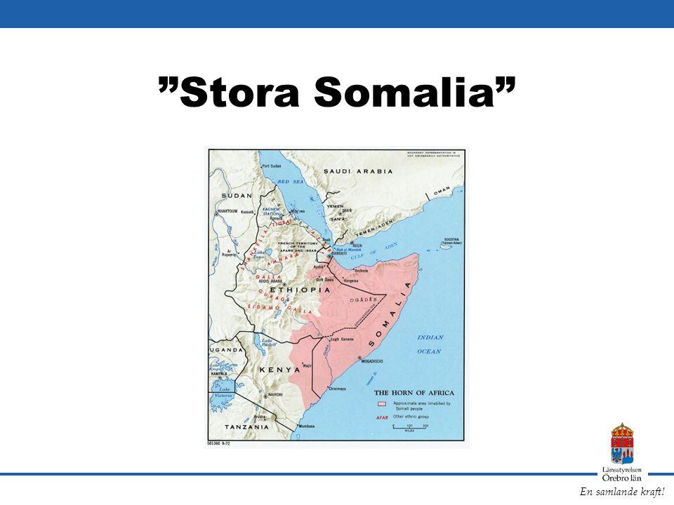 """En samlande kraft! """"Stora Somalia"""""""