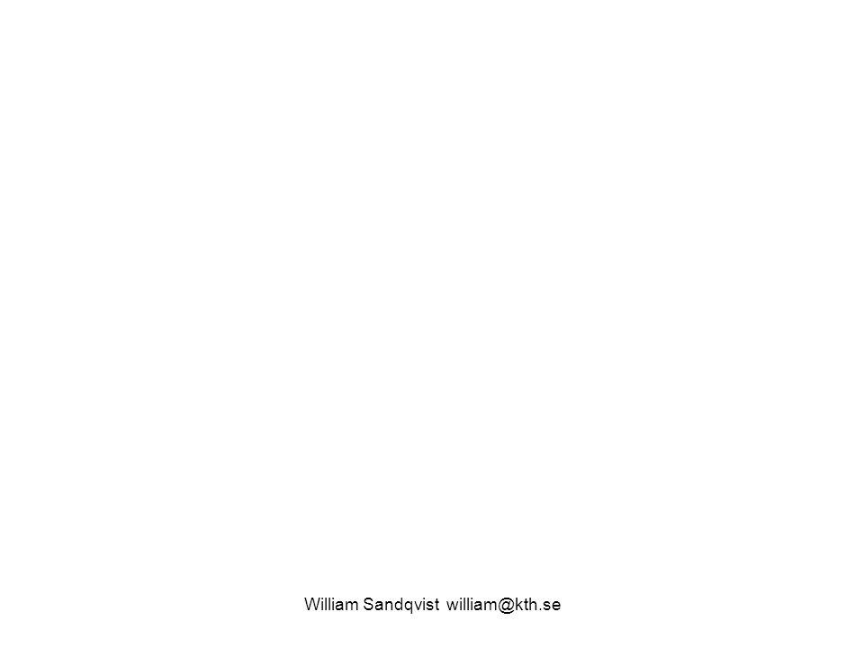 William Sandqvist william@kth.se ex.Låg pulsfrekvens ABS-bromsar.