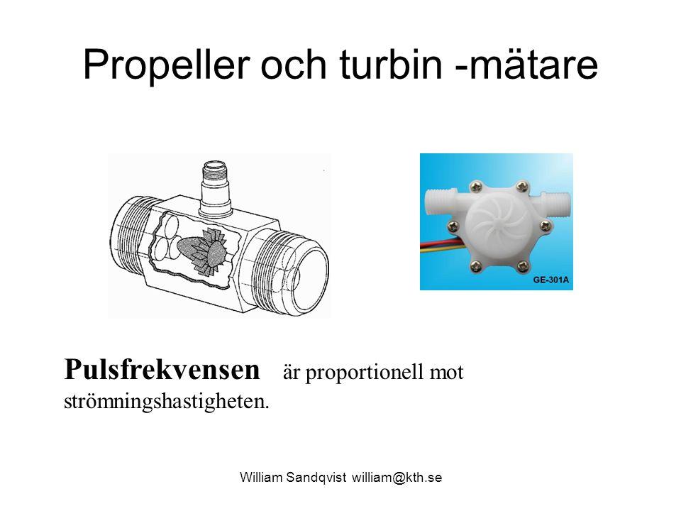 William Sandqvist william@kth.se Vänta på flankerna CCP1IF = 0 ; // reset the flag while (CCP1IF == 0 ) ; // wait for capture t1 = CCPR1H*256; t1 += CCPR1L; CCP1IF = 0 ; // reset the flag while (CCP1IF == 0 ) ; // wait for next capture t2 = CCPR1H*256; t2 += CCPR1L; T = t2 - t1; // calculate period f = 1000000U/T; // calculate frequency unsigned long T, f, t1, t2; t1t1 t2t2 16-bitarstal