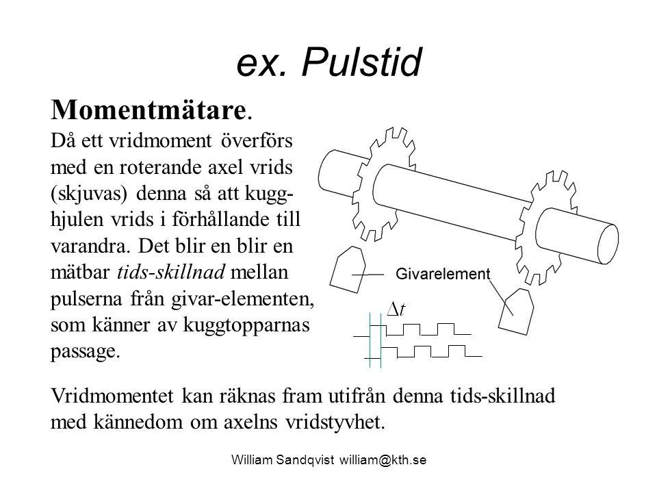 William Sandqvist william@kth.se t2 – t1 unsigned long T, f, t1, t2;  Vad händer om t1 > t2 (100-65636).