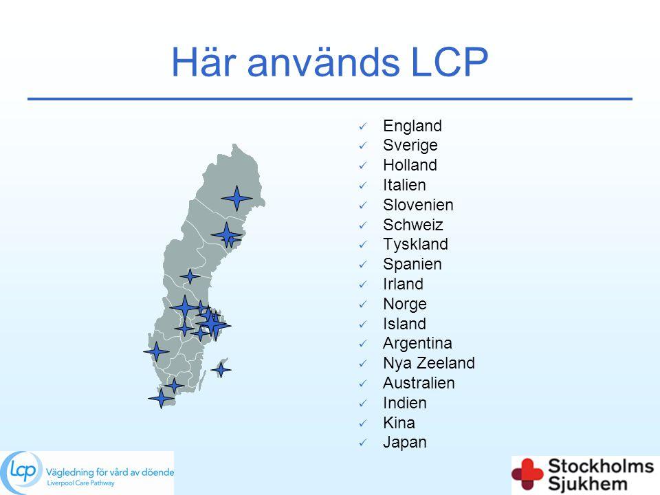 Här används LCP  England  Sverige  Holland  Italien  Slovenien  Schweiz  Tyskland  Spanien  Irland  Norge  Island  Argentina  Nya Zeeland