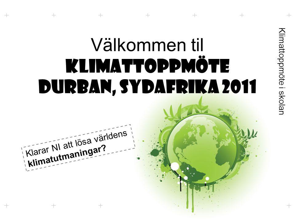 Köpenhamn 2009  Enighet om att arbeta för ett nytt avtal  Rik mot fattig