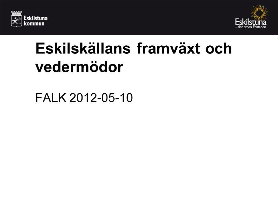 Eskilskällans framväxt och vedermödor FALK 2012-05-10
