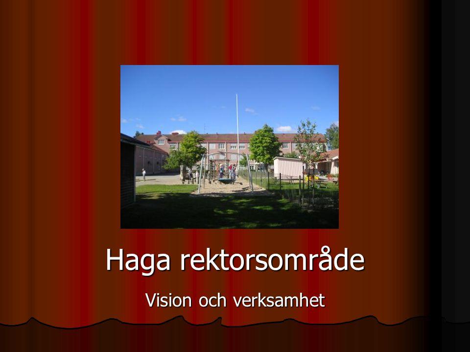Haga rektorsområde Vision och verksamhet