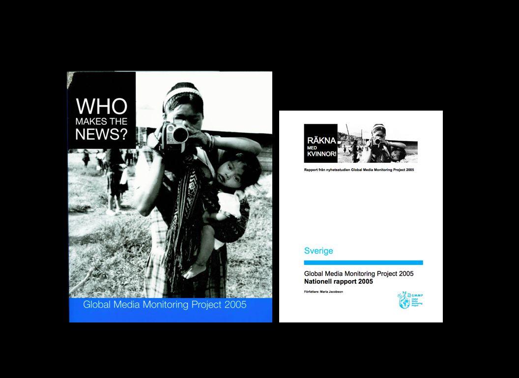 Länder med högst andel kvinnliga nyhetssubjekt
