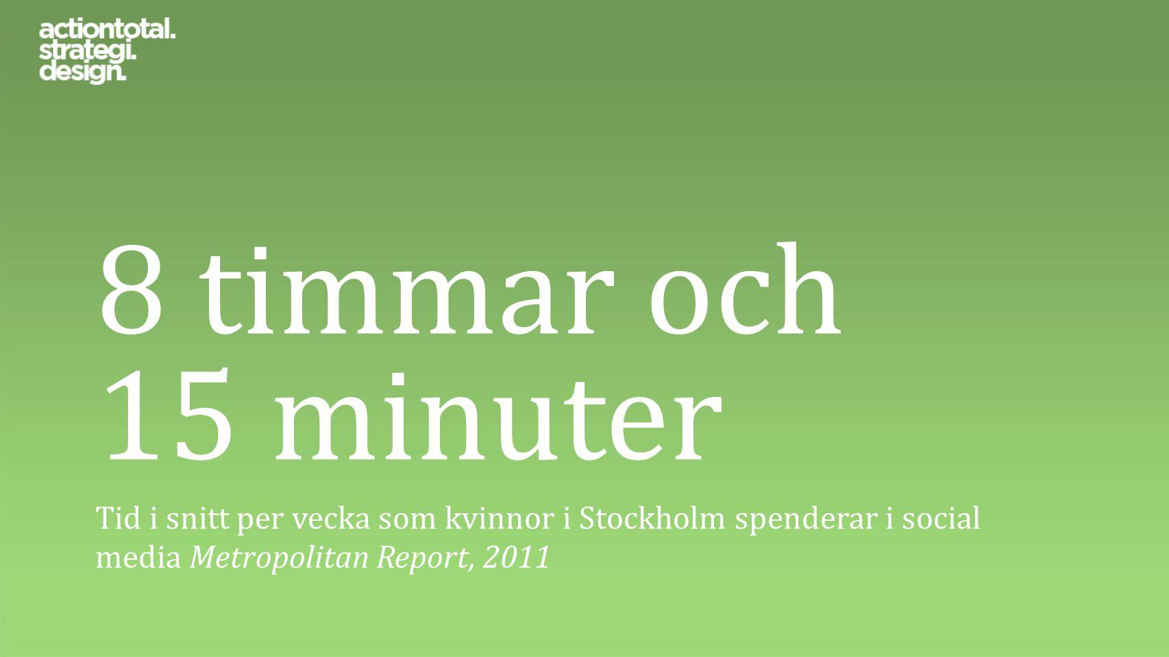 75% av svenska ungdomar använder YouTube minst en gång i veckan. Kairos Future, 2011