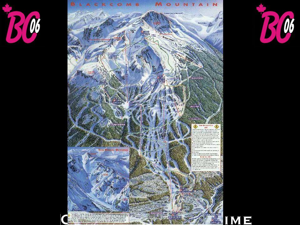 Whistler / Blackcomb Snö: 914 cm Högsta höjd: 2.284 m Fallhöjd: 1.609 m