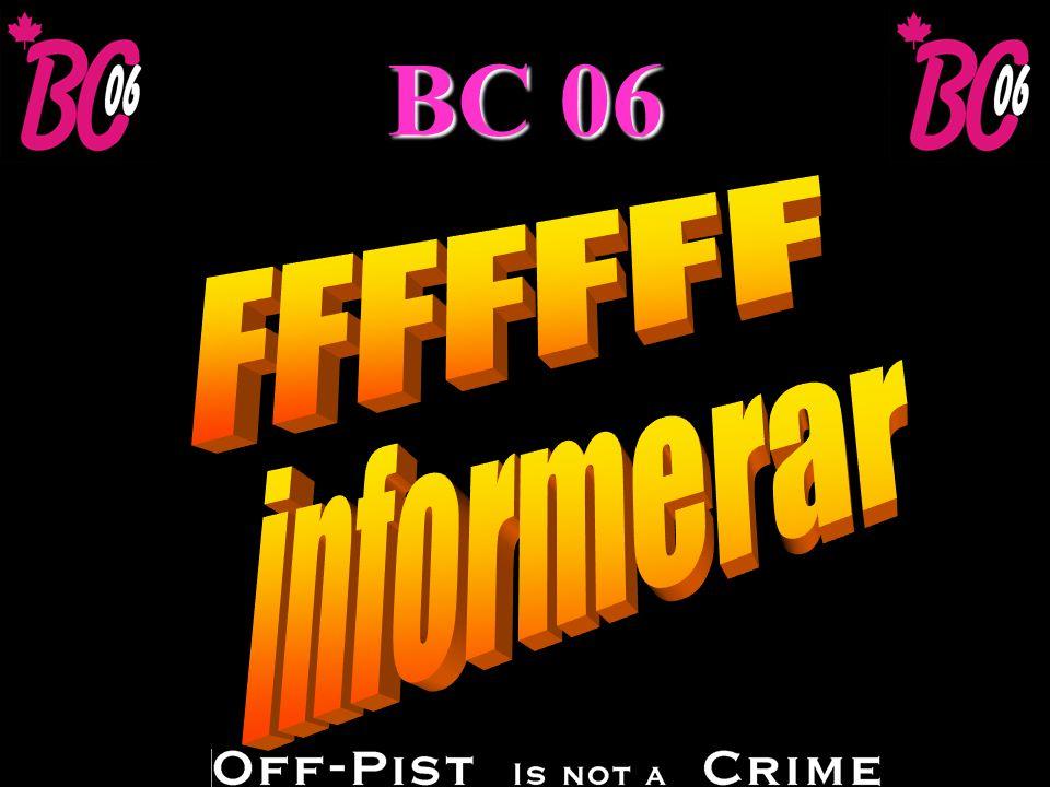 BC 06 u Frågor