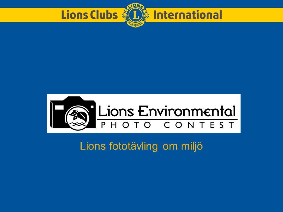 1972 gjorde Lions en utfästelse att bevara miljön