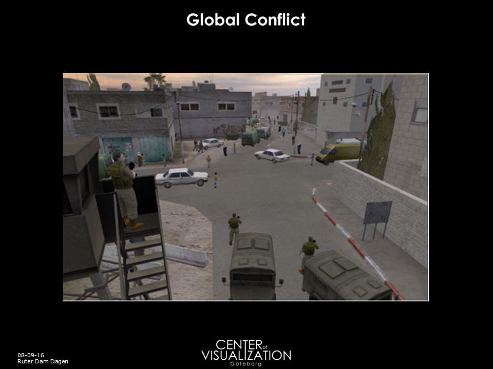 Global Conflict 08-09-16 Ruter Dam Dagen