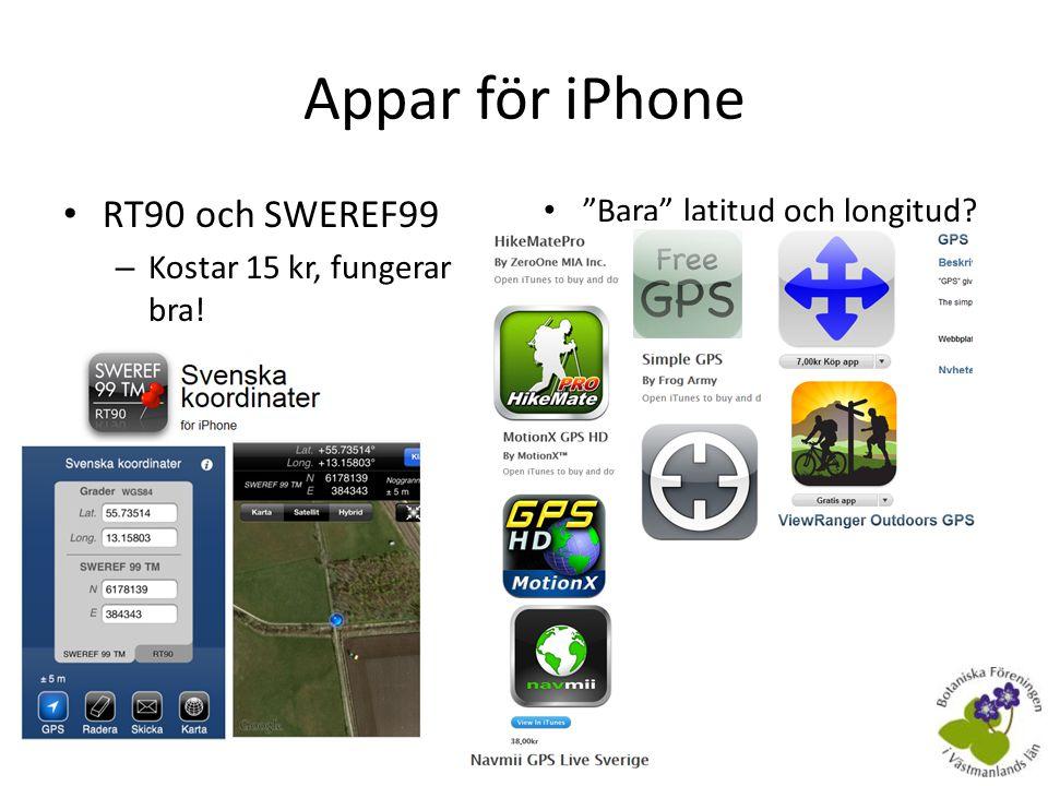 Föreningens handburna GPS-modeller • Garmin Legend HCx • Garmin eTrex 20 – Från april 2012