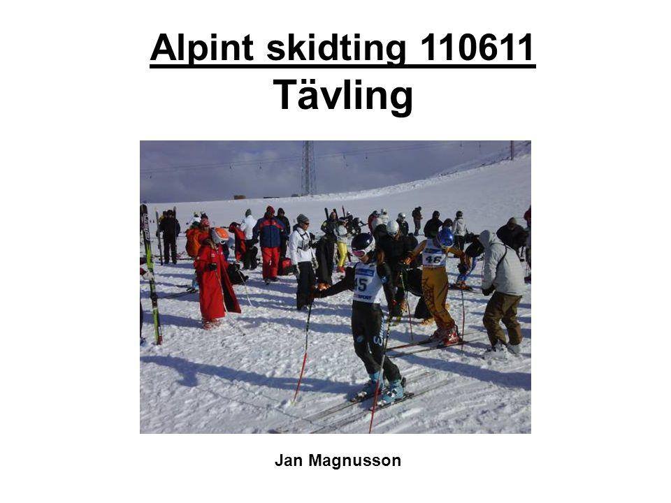 Alpint skidting 110611 Tävling Jan Magnusson