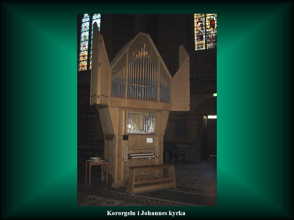 Kororgeln i Johannes kyrka