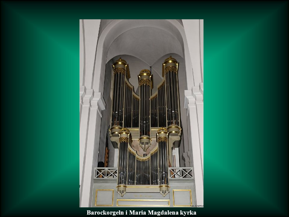 Barockorgeln i Maria Magdalena kyrka