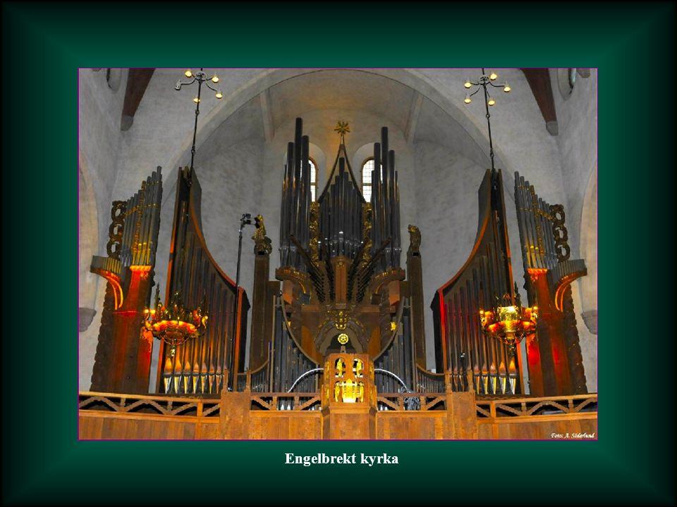 Barockorgeln i Finska kyrkan