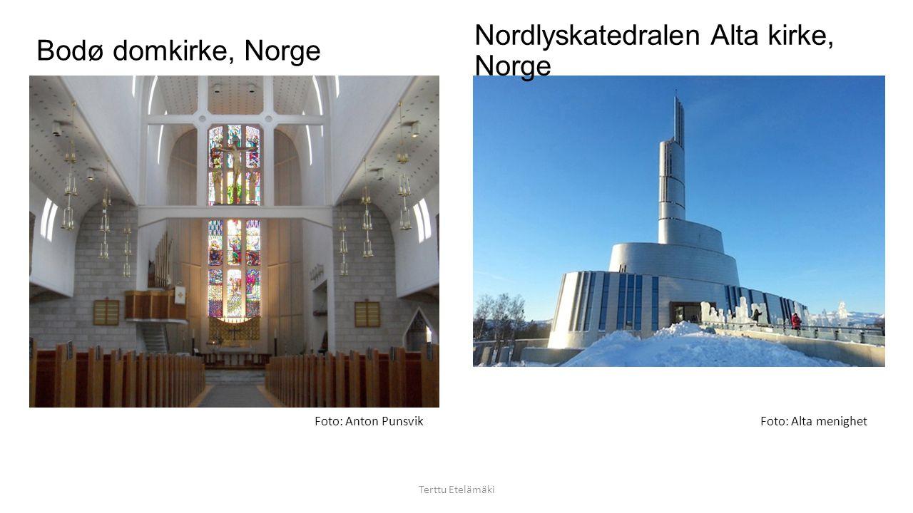 Lofotkatedralen, Vågan kirke, Norge Terttu Etelämäki Foto: Promo-Norge