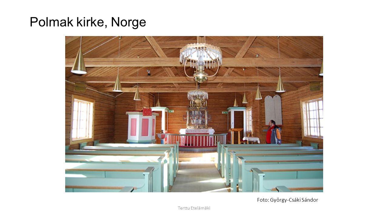 """Dorotheas kapell, Tranøy, Norge I nutidskonsten bereder man sig på att möta det som är """"någonting annat"""". Till principen för en dialog hör att åskådar"""