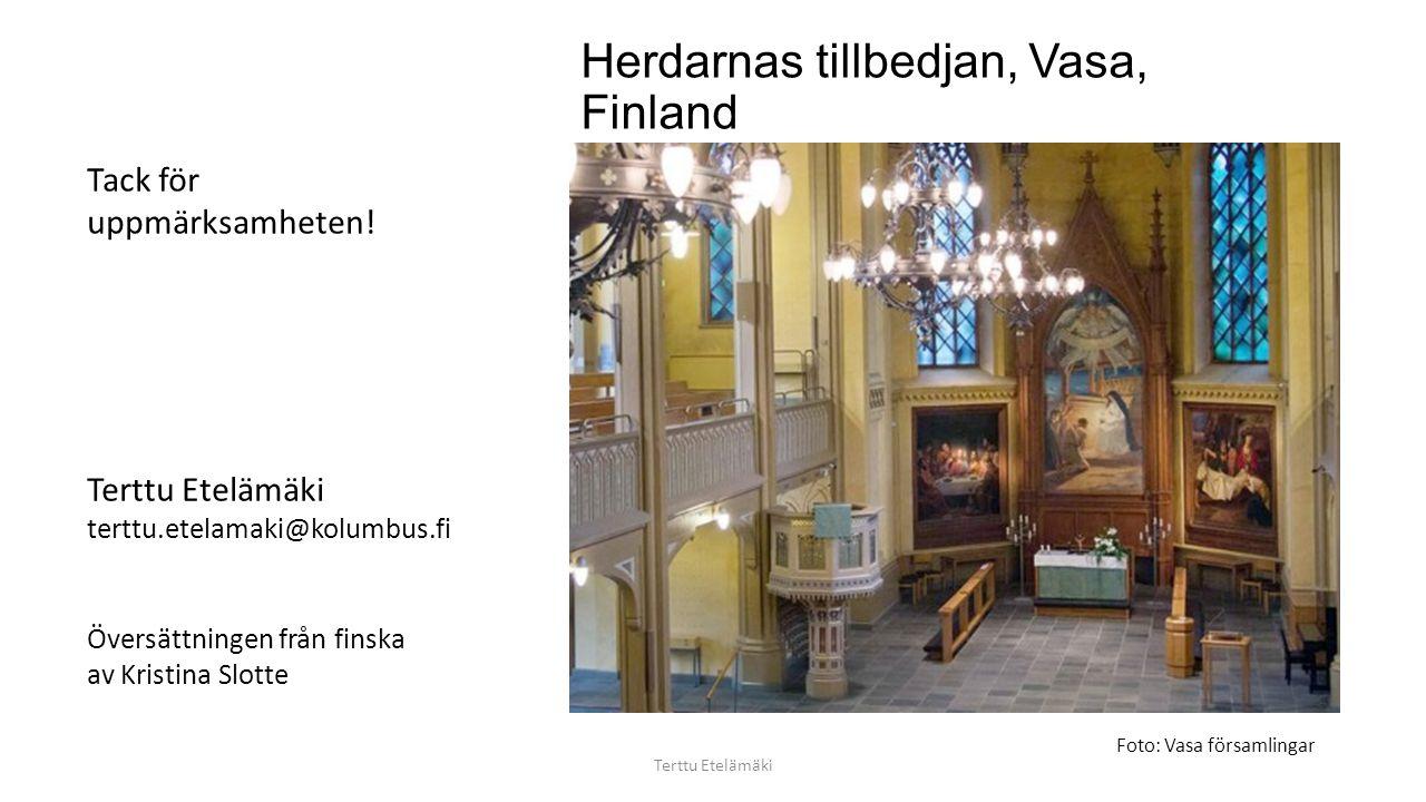 Polmak kirke, Norge Terttu Etelämäki Foto: György-Csáki Sándor
