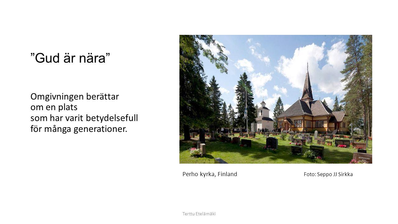 Kiminge kyrka, Finland Tänk att bara det att se var tillräckligt Terttu Etelämäki Foto: Seppo Sivonen