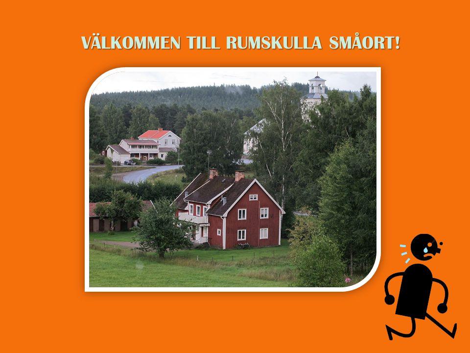 VÄLKOMMEN TILL RUMSKULLA SMÅORT!