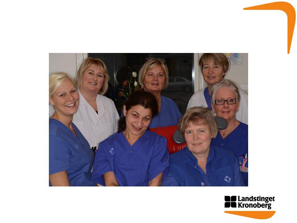 •Till oss kommer man genom remiss från vårdinstanser eller tandläkare.