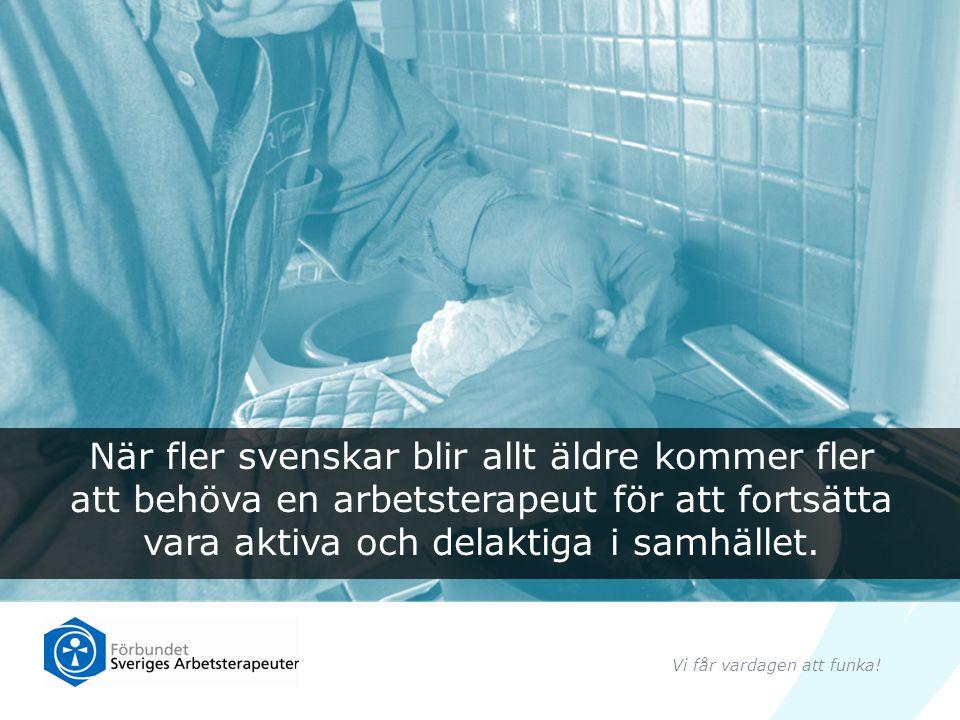 Förbundet Sveriges Arbetsterapeuter (FSA) har 10 000 medlemmar över hela Sverige.