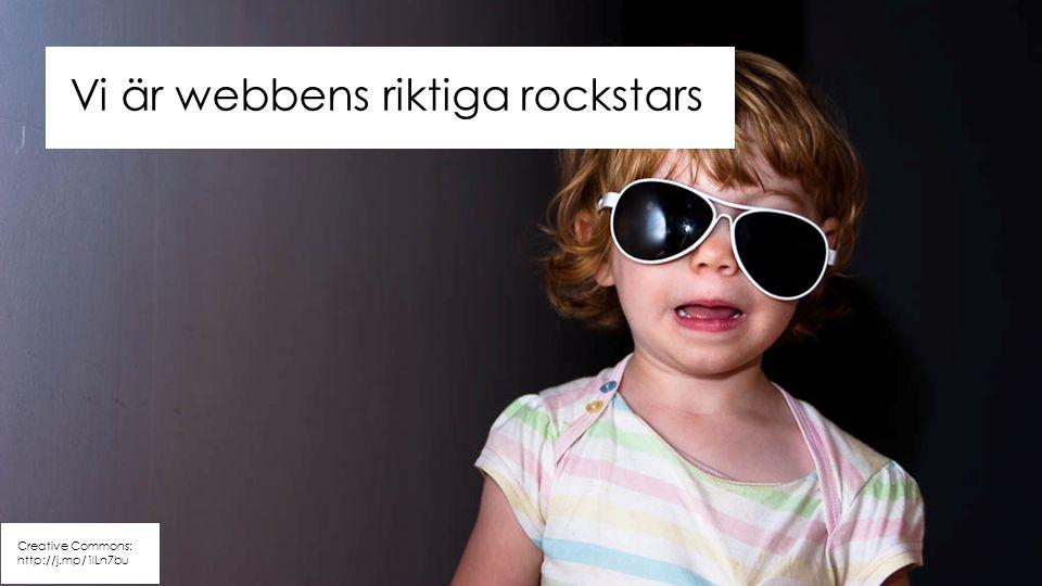 Creative Commons: http://j.mp/1lLn7bu Vi är webbens riktiga rockstars