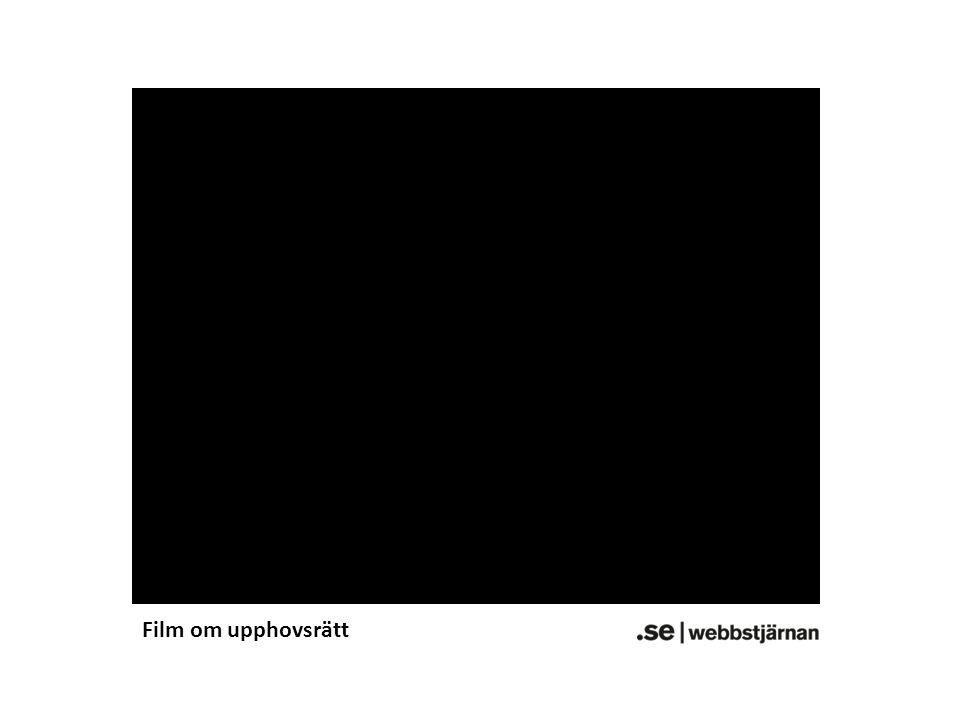 Film om upphovsrätt