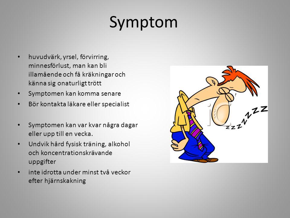 Slår i huvudet så att hjärnan kommer i rörelse www.1177.se/artikel.asp?Categor yID=38424 /www.skellefteaaik.se/assets/documents/Hjarnskakning.pdf