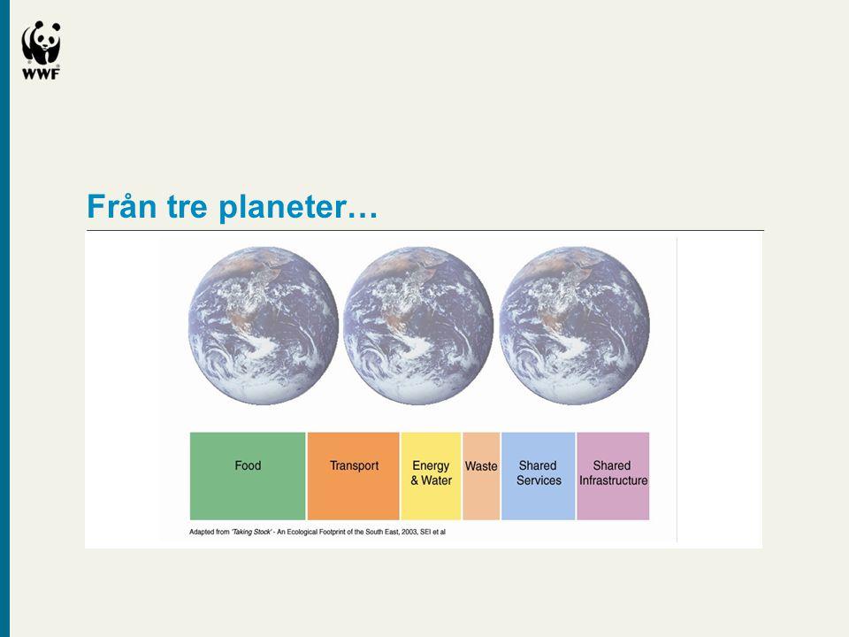 Från tre planeter…