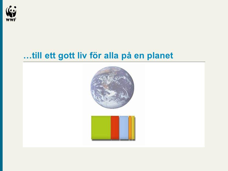 …till ett gott liv för alla på en planet