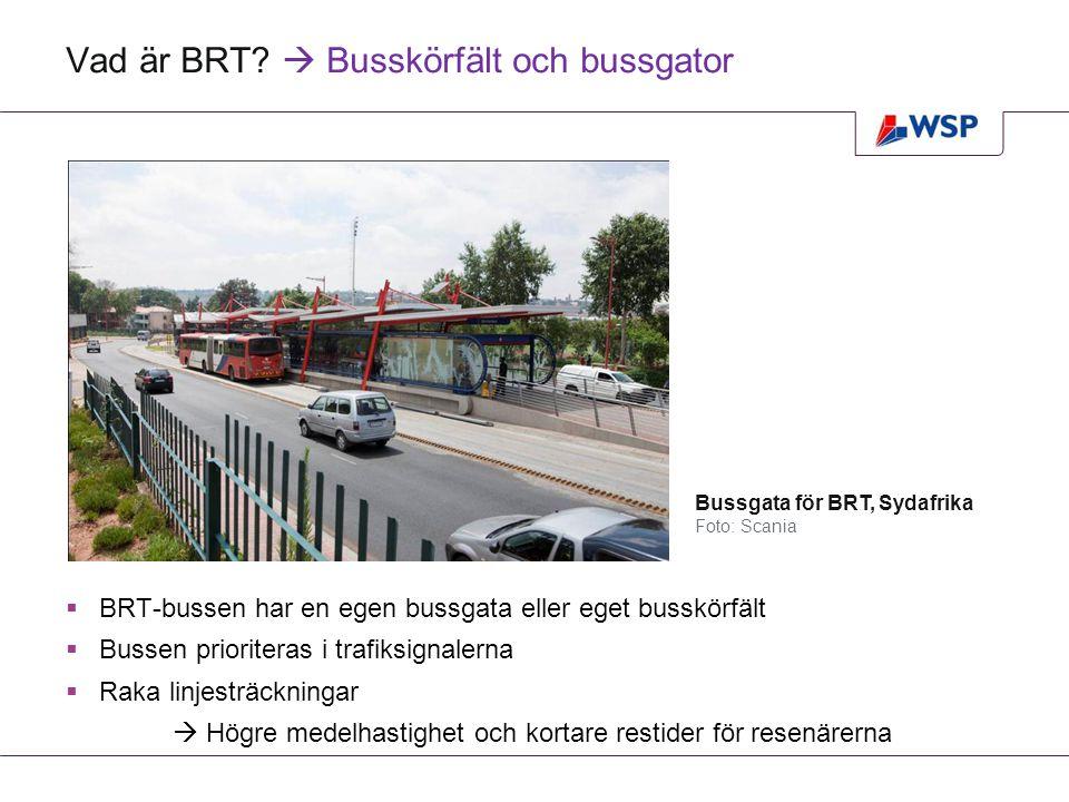 Jämförelser av utsläppskalkyler för två av projekten Utsläpp ton/årTvärförbindelse sydBusslinje 16 Göteborg Grön el BRTSpårvägBRTSpårväg Dieselbuss 1 4071 473 Etanolbuss 807690 Biogasbuss 656493 Elhybridbuss 1 034986 Spårvagn 777375 Utsläpp ton/årTvärförbindelse sydBusslinje 16 Göteborg EU-mix BRTSpårvägBRTSpårväg Dieselbuss 1 6521 711 Etanolbuss 1 052928 Biogasbuss 901731 Elhybridbuss 1 2791 224 Spårvagn 19421 758 Värderingsmetoden för elanvändningen avgör kalkylen!