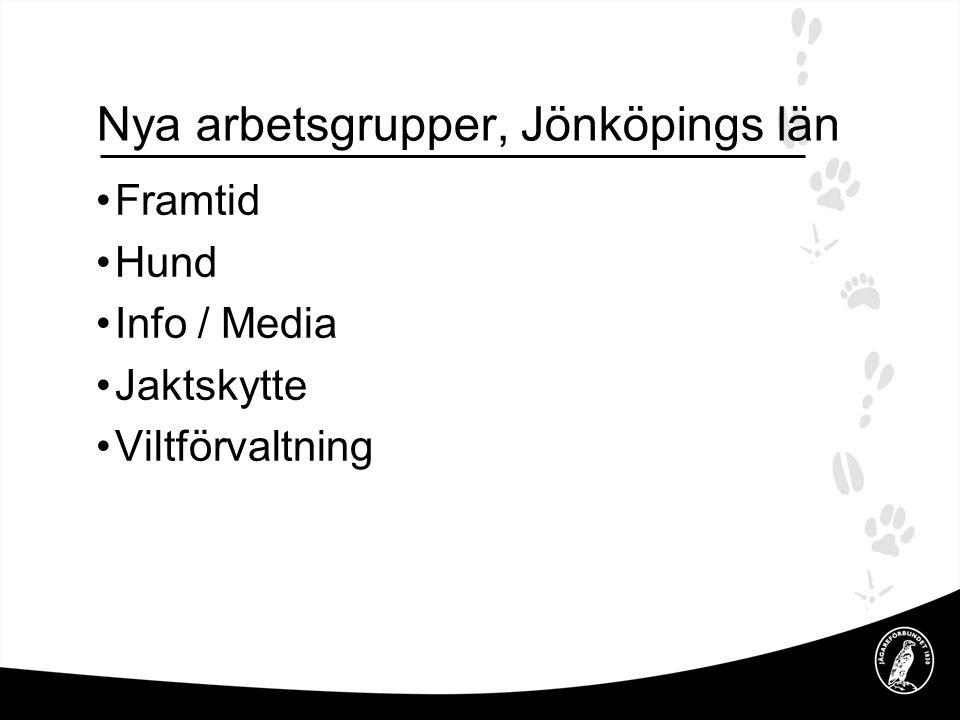 Arbetsordning för samtliga arbetsgrupper i Jägareförbundet, Jönköpings län.