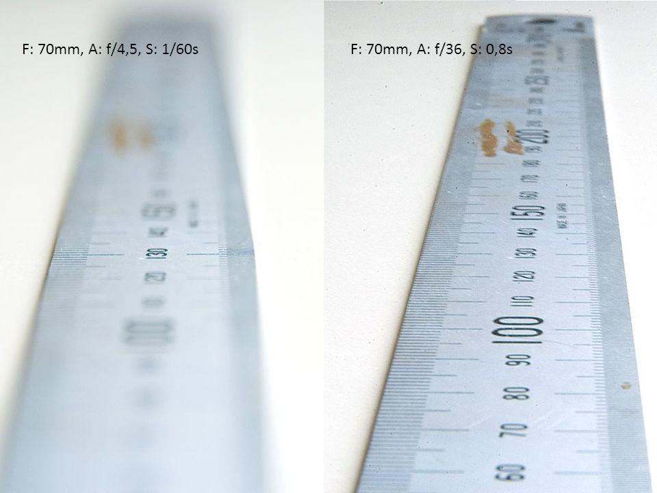 F: 70mm, A: f/4,5, S: 1/60sF: 70mm, A: f/36, S: 0,8s