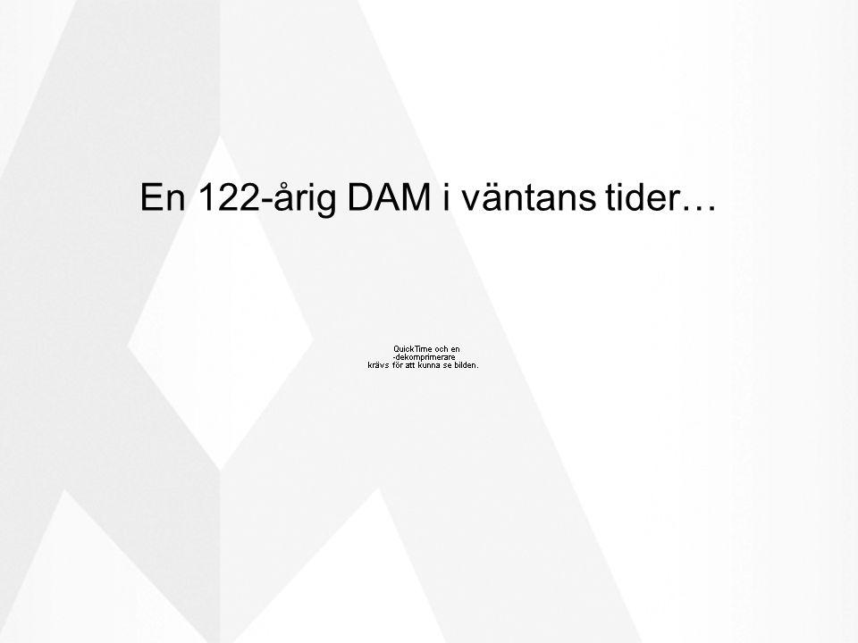 En 122-årig DAM i väntans tider…