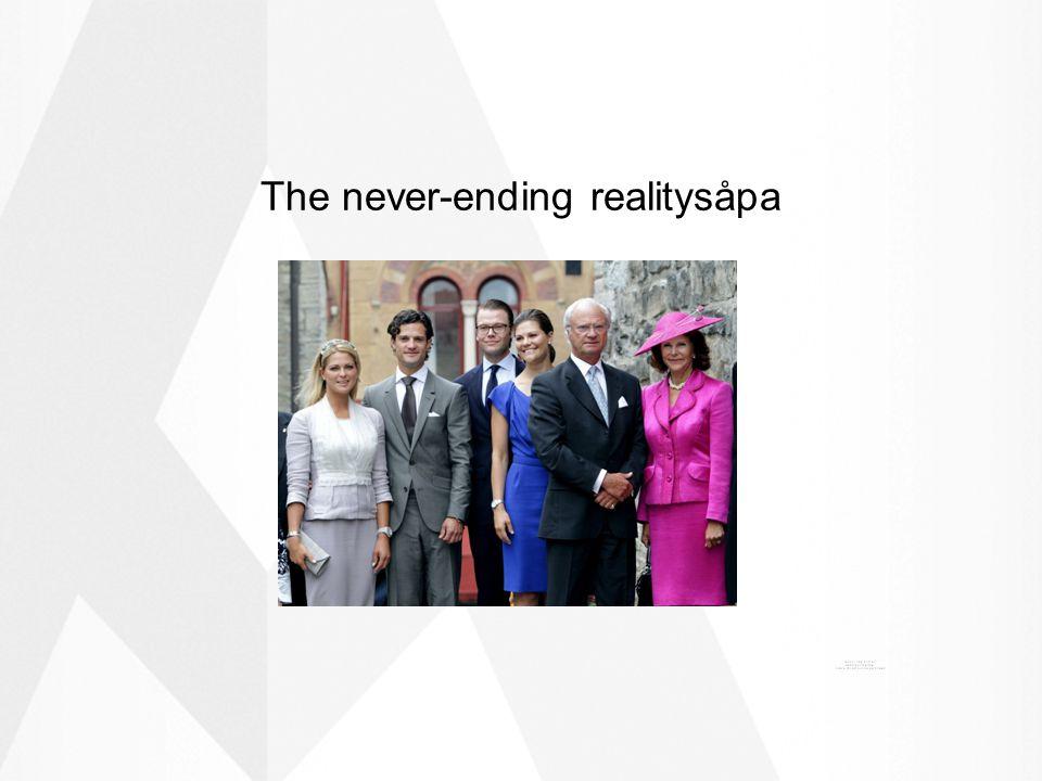 The never-ending realitysåpa