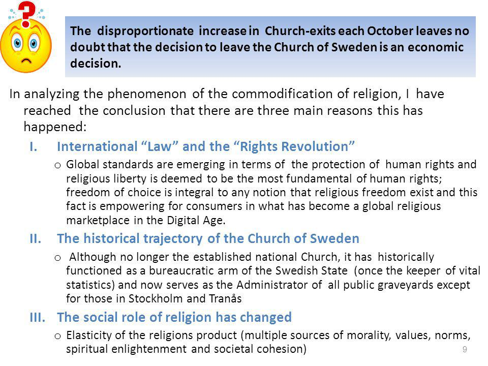 Monthly Exit from the Church of Sweden between 2004 and 2012 source: www.svenskakyrkan.se Utträden månadsvis 2004-2012  Månad201220112010200920082007200620052004  Januari188623482707216521812460175918822427  Februari183523981999184518312102148215642221  Mars340233973124254316842011181119092310  April675062437291662754904212437152785782  Maj454251414929399044143829345734993998  Juni269833763936324626882628218022613041  Juli239526382688280825532563192017242244  Augusti363241394358431438423950422841504370  Septembe58096567714516984706266337688148998141  Oktober176571238413928230851476321504239872466433161  Novembe257222522831330021752927280247518262  Decembe27716512522268818211524166920482450  Summa534555253457458735955050456343573546862978407 8
