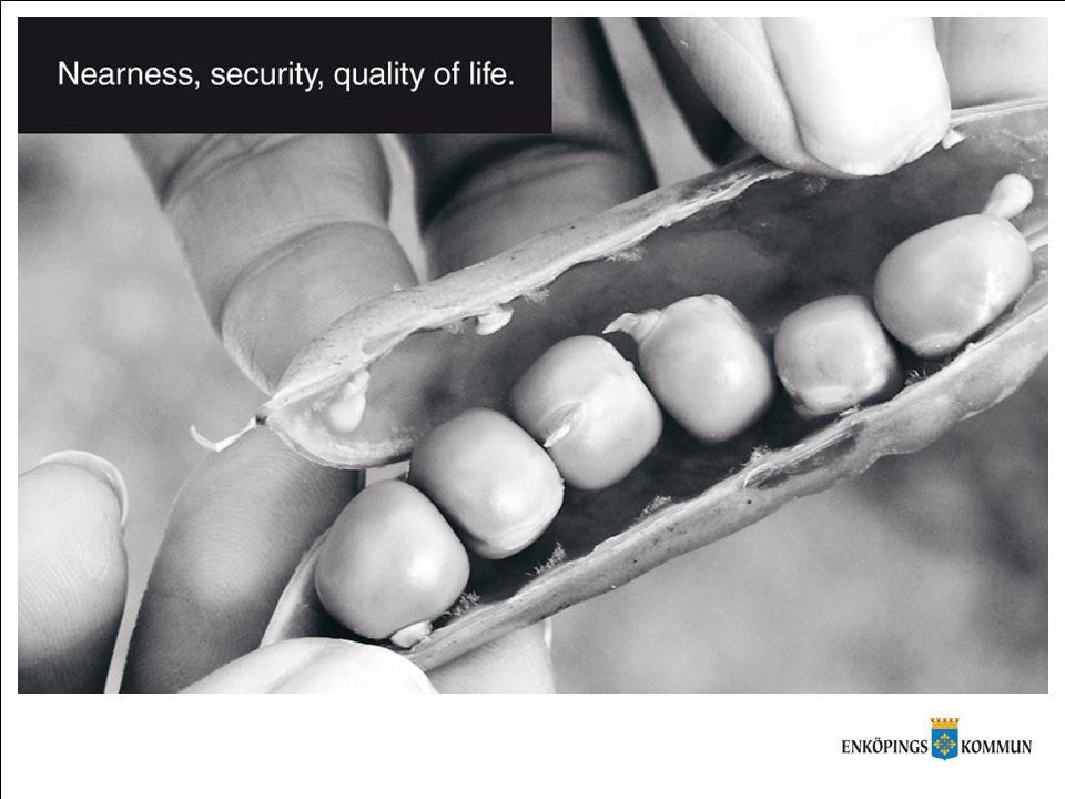 Närhet - mer än tid och avstånd •Närhet •Trygghet •Livskvalitet