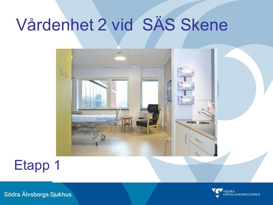 Södra Älvsborgs Sjukhus Vårdenhet 2 vid SÄS Skene Etapp 1