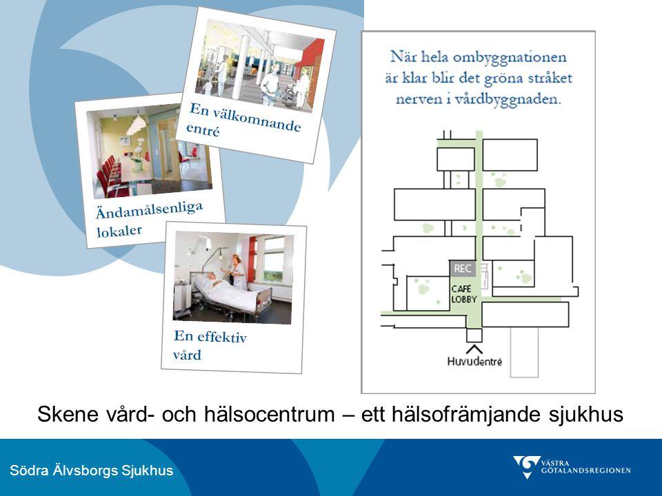 Södra Älvsborgs Sjukhus Skene vård- och hälsocentrum – ett hälsofrämjande sjukhus