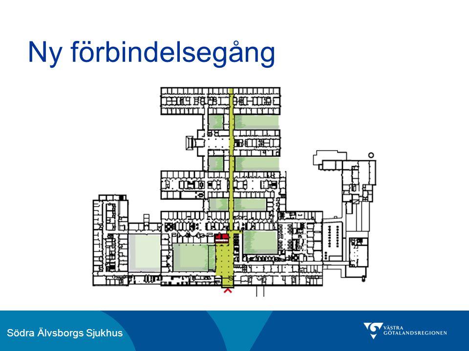 Södra Älvsborgs Sjukhus Ny förbindelsegång