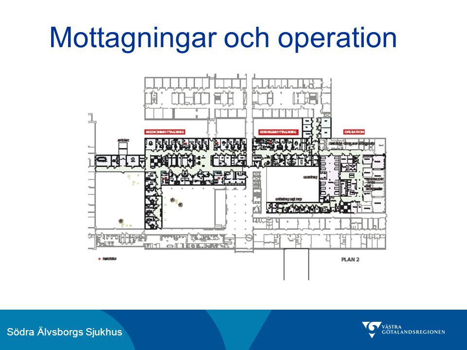 Södra Älvsborgs Sjukhus Mottagningar och operation