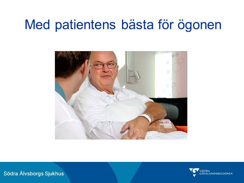 Södra Älvsborgs Sjukhus Med patientens bästa för ögonen