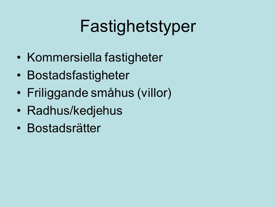 Fortsatta studier •Vilken typ av lokaler och vilka geografisk lägen eftertraktar olika typer av företag vid en etablering i Umeå.
