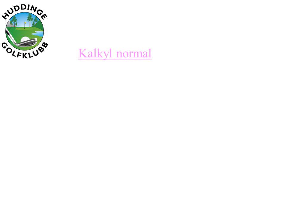 Kalkyl normal