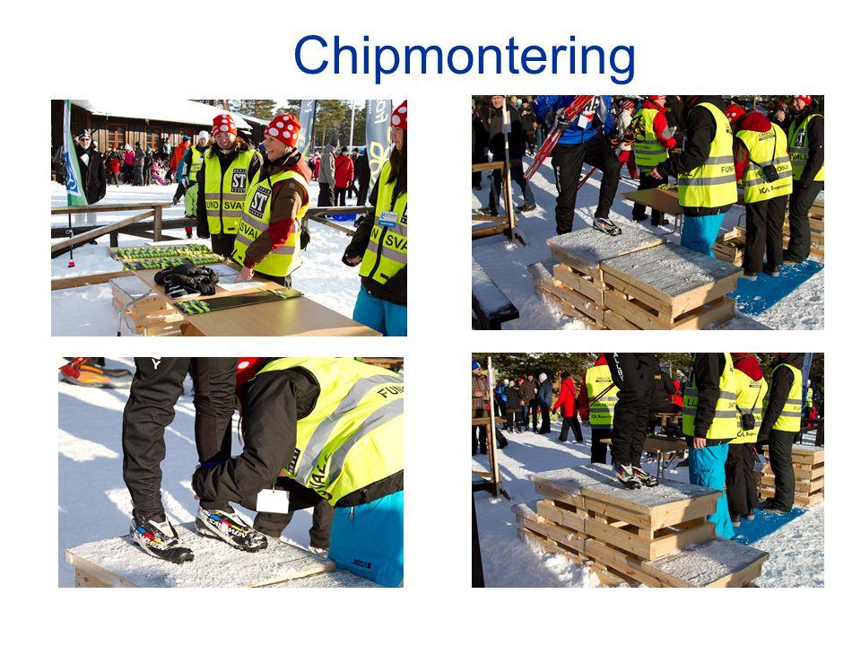 Chipmontering
