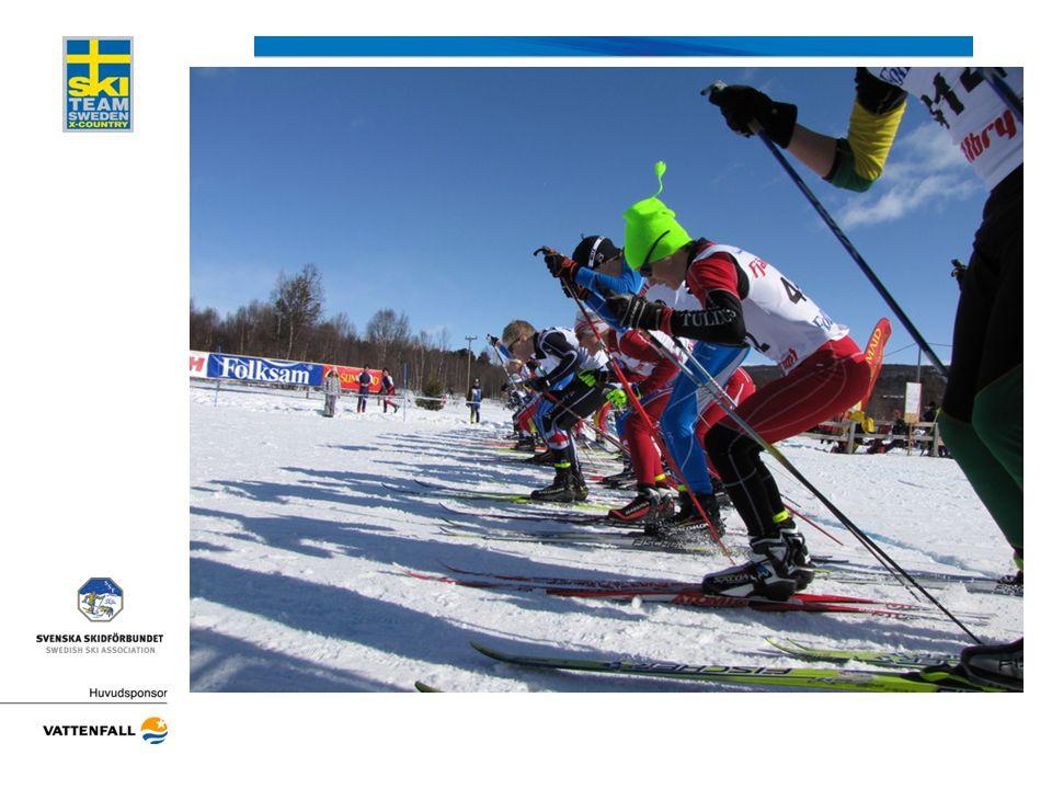 FIS-code och FIS-punkter •FIS regler (Fis-points-rules) •www.fis-ski.comwww.fis-ski.com •6 st rankinglistor/år sprint/distans •Startordning –Fispunktsordning (Sprint och masstart) –Sidade startgrupper (Intervallstart) •Kontroll före lottning •Tävlingspoäng •Resultatet (xml-fil) skickas till alpineresults@fisski.ch med mail