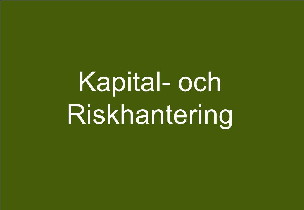 Presentationsnamn Kapital- och Riskhantering