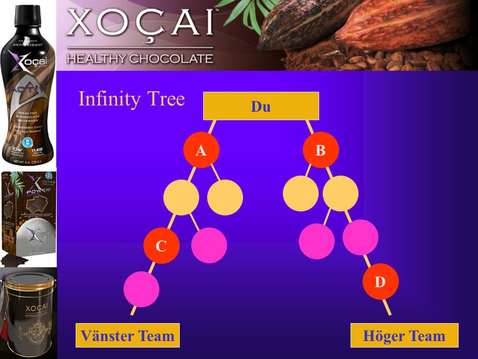 11 Infinity Tree Vänster TeamHöger Team Du B C D A