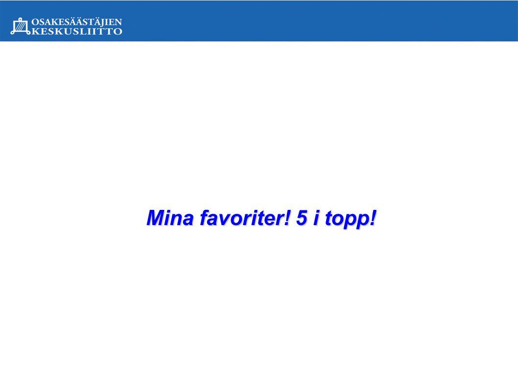 5.Val av placeringsobjekt på basen av kurshistoria.